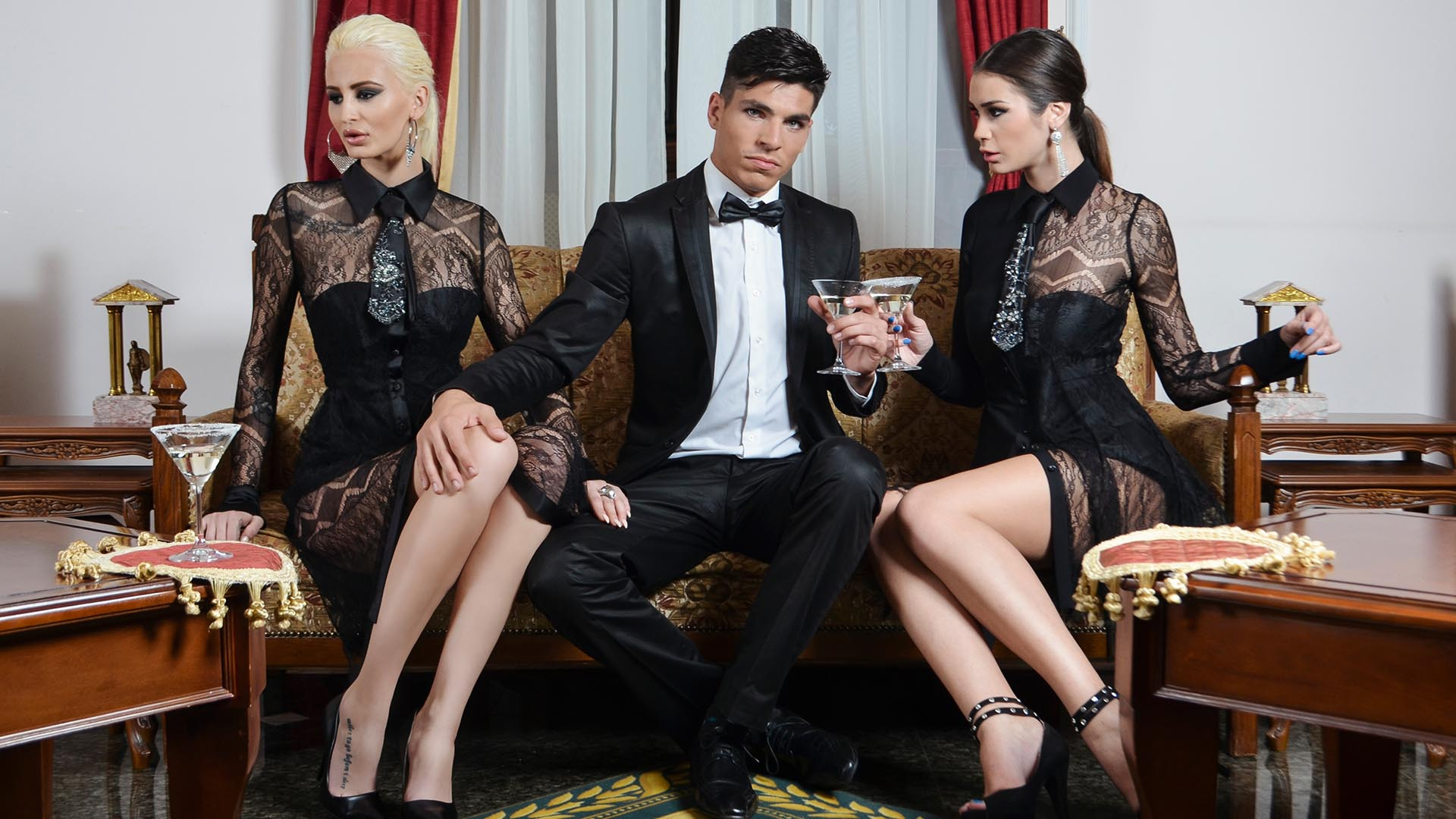 black tie collection by danijela bozic fashion designer