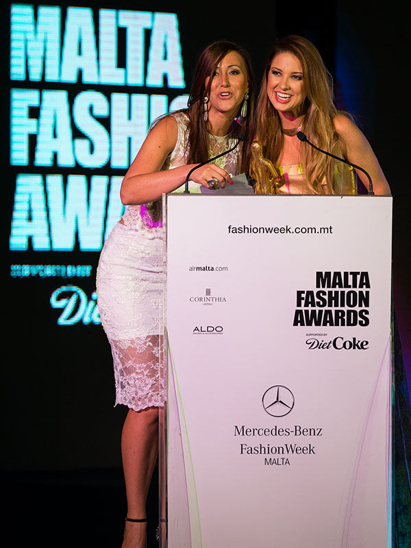 danijela bozic on malta fashion awards